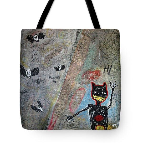 Ladies And Gentlement, The Devil Tote Bag