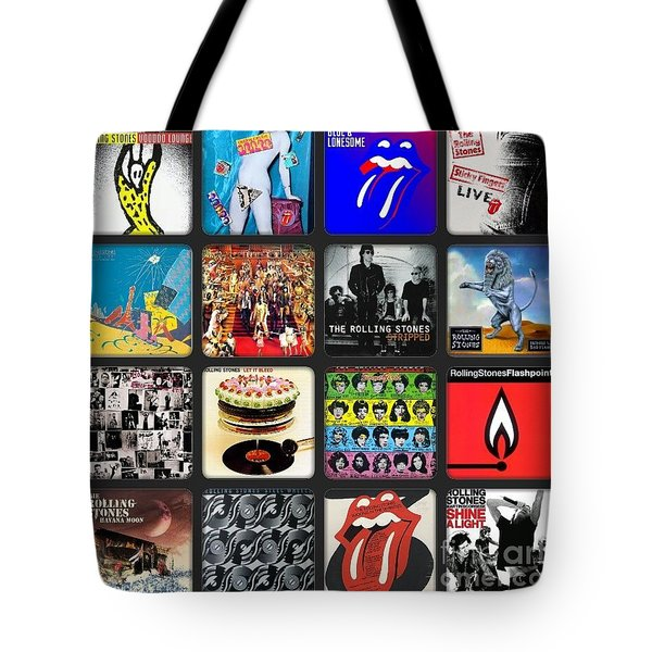 Ladies And Gentlmen The Rolling Stones Tote Bag