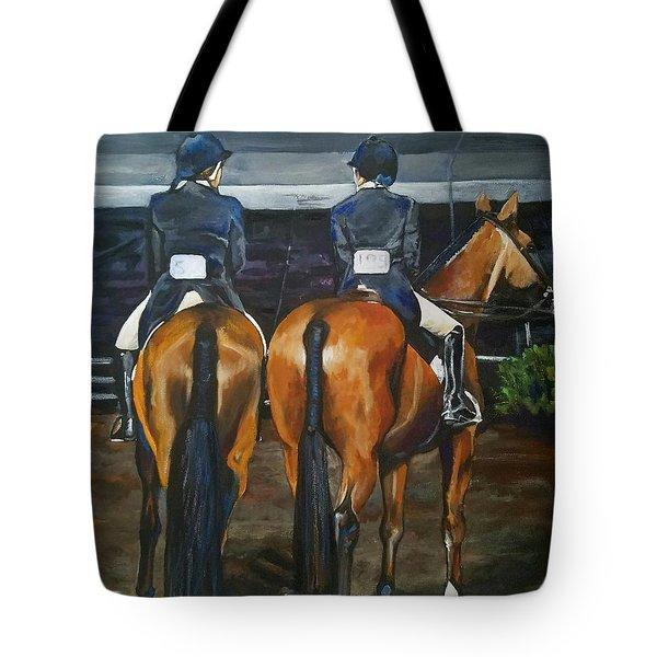 Ladies At Sussex Hunt Night Tote Bag