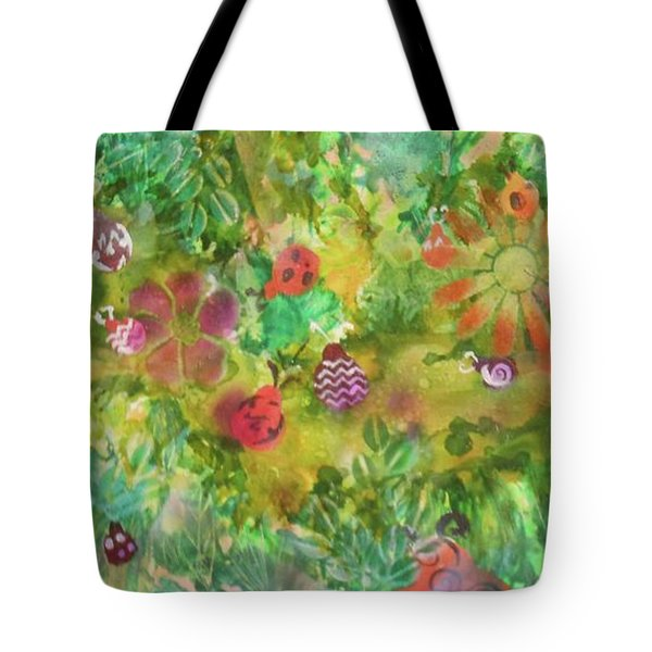 Ladies Garden Retreat Tote Bag