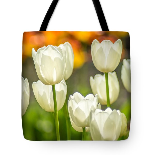Ladies In White Tote Bag
