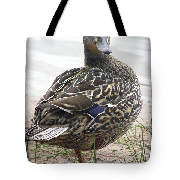 Tote Bag featuring the photograph Lady by Angie Rea