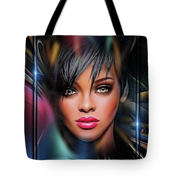 Lady Beautiful Tote Bag