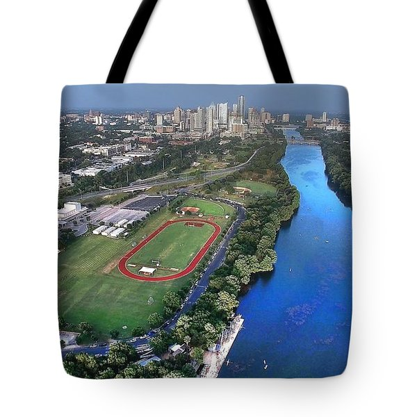 Lady Bird Lake Tote Bag