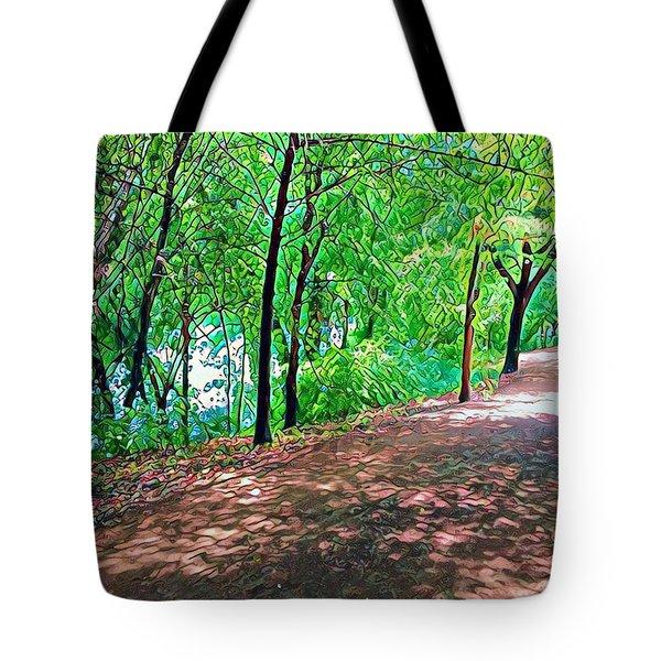 Lady Bird Trail Tote Bag