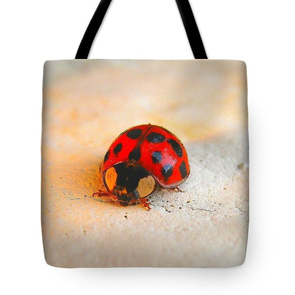 Lady Bug 2 Tote Bag
