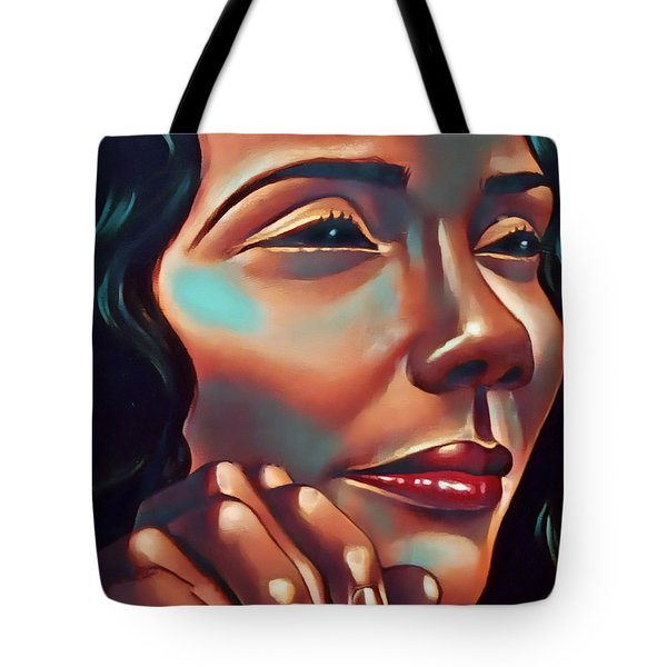 Lady Coretta Tote Bag
