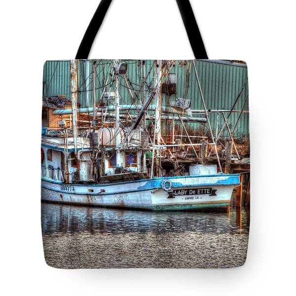 Lady De Ette Tote Bag