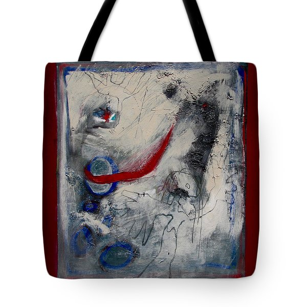 Lady Deciding Tote Bag
