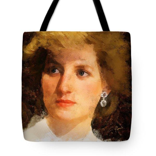Lady Diana Tote Bag