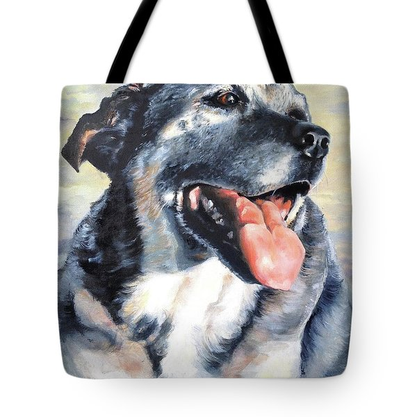 Lady Tote Bag by Diane Daigle