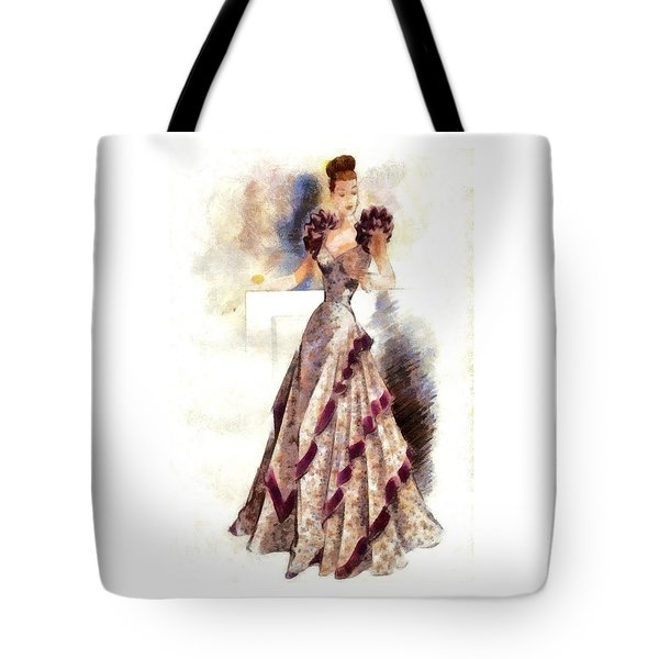 Lady Elegance Tote Bag