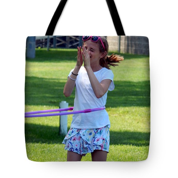 Lady Grace Hula Tote Bag