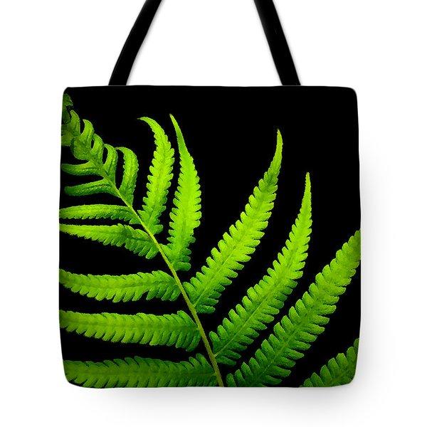 Lady Green Tote Bag