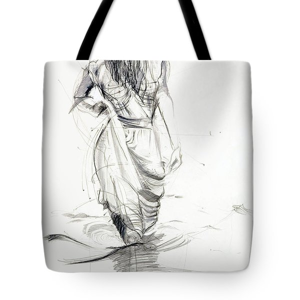 Lady In The Waters Tote Bag