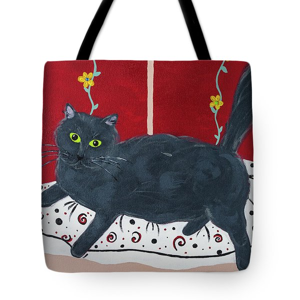 Lady Kitty Tote Bag