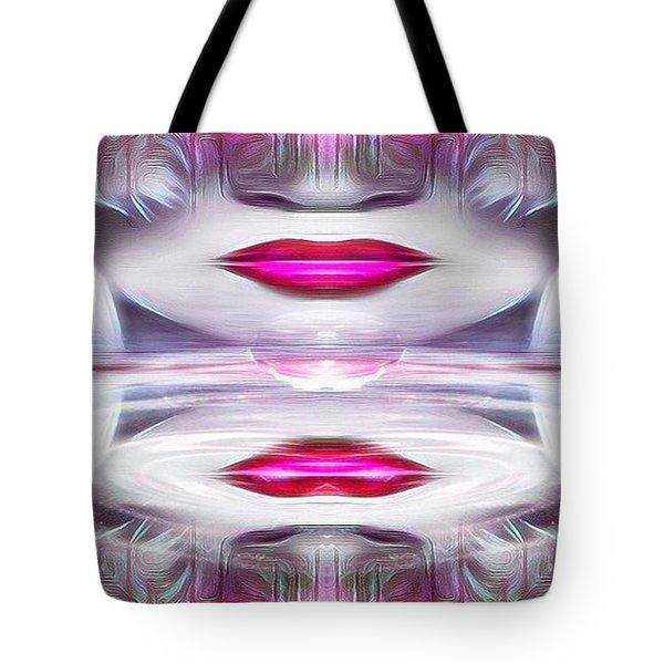 Lady Fashion Beauty Tote Bag