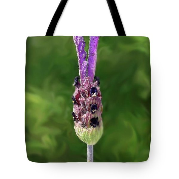 Lady Lavender Tote Bag