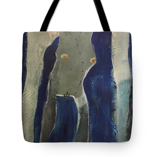 Lady Long Arms Tote Bag