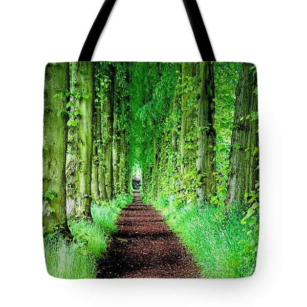 Lady Lucy's Walk Tote Bag by Wallaroo Images