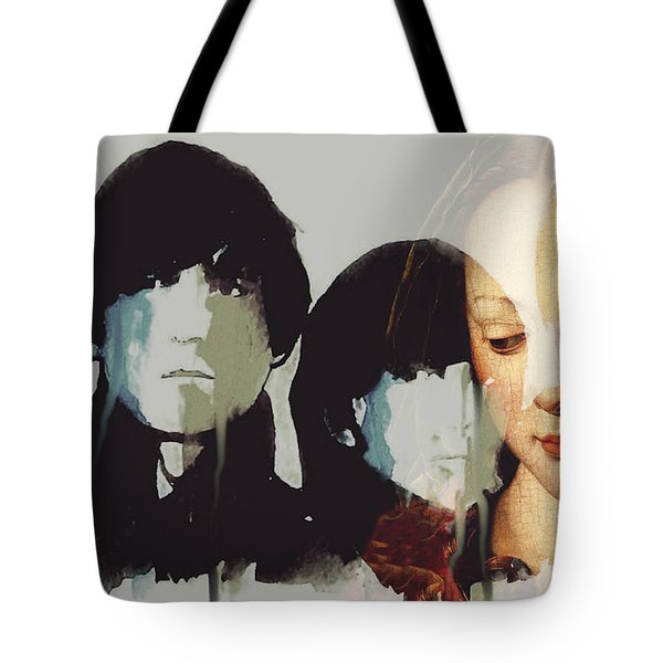 Lady Madonna Children At My Feet  Tote Bag