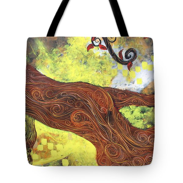 Lady Of Elation Tote Bag