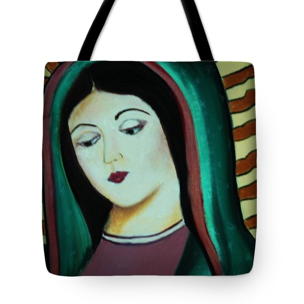 Lady Of Guadalupe Tote Bag