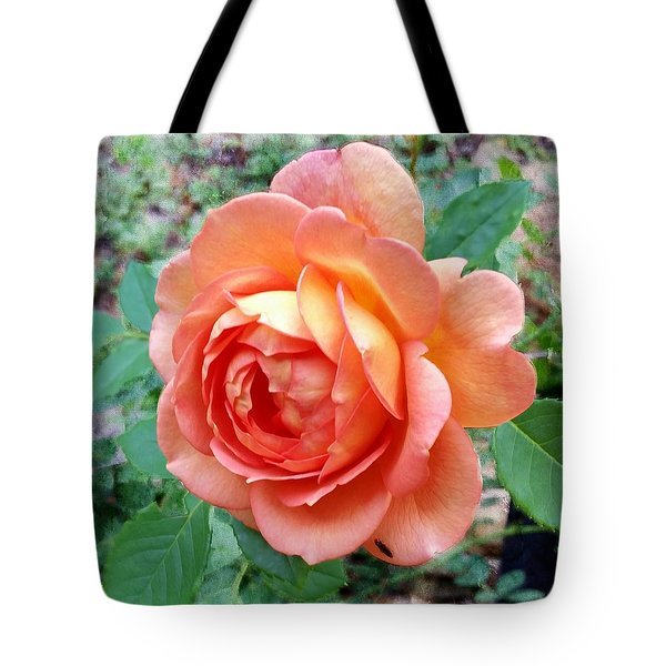 Lady Of Shalott Rose Tote Bag
