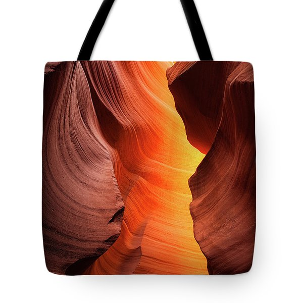 Tote Bag featuring the photograph Lady Of The Flame by Darren White