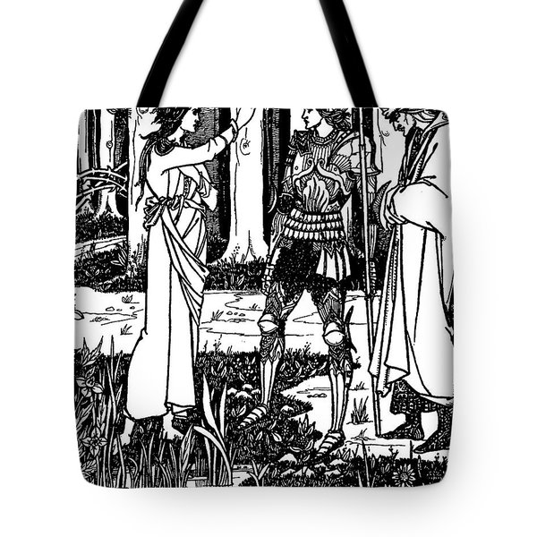 Lady Of The Lake Tote Bag