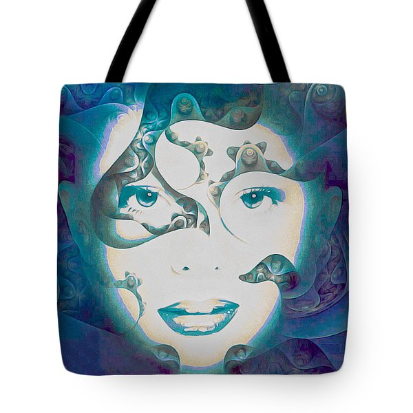 Lady Of The Lake Tote Bag by Susan Maxwell Schmidt