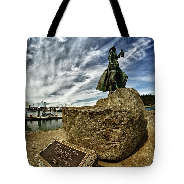 Lady Of The Sea Tote Bag