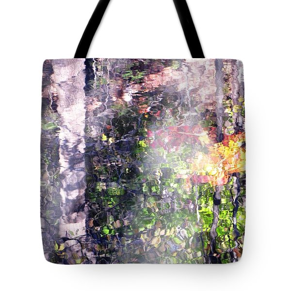 Tote Bag featuring the photograph Lady On Water by Melissa Stoudt