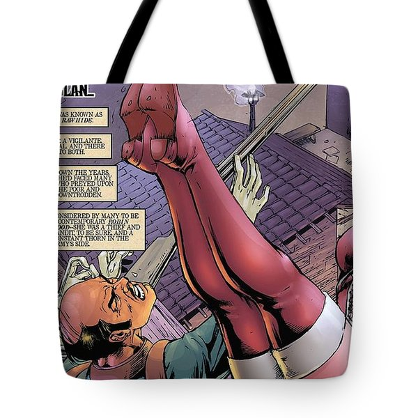 Lady Rawhide Tote Bag