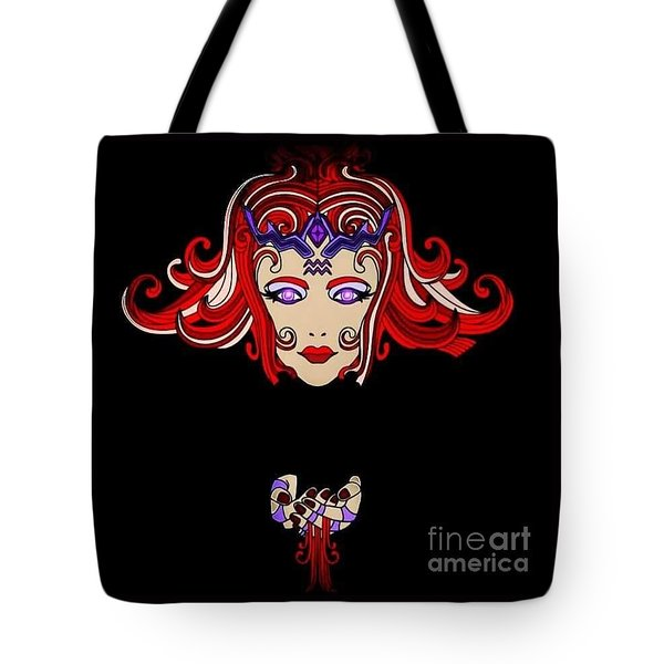 Lady Red Tote Bag