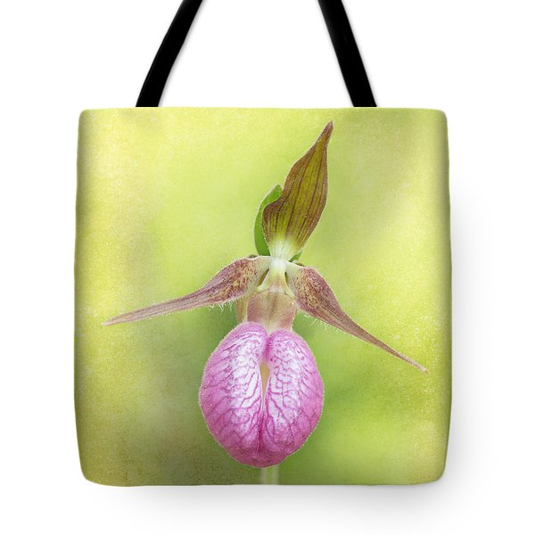 Lady Slipper Orchid Fantasy Tote Bag