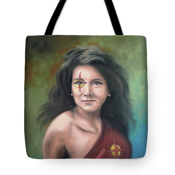 Lady Starr Tote Bag