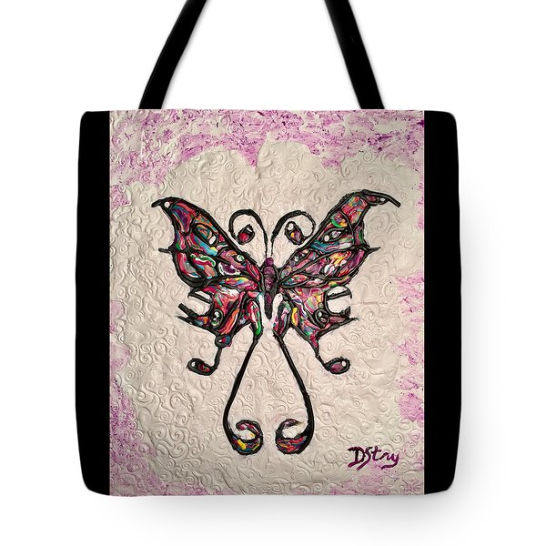 Lady T Tote Bag
