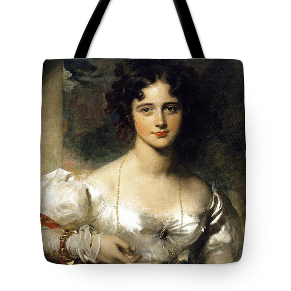 Lady Tote Bag by Thomas Lawrence