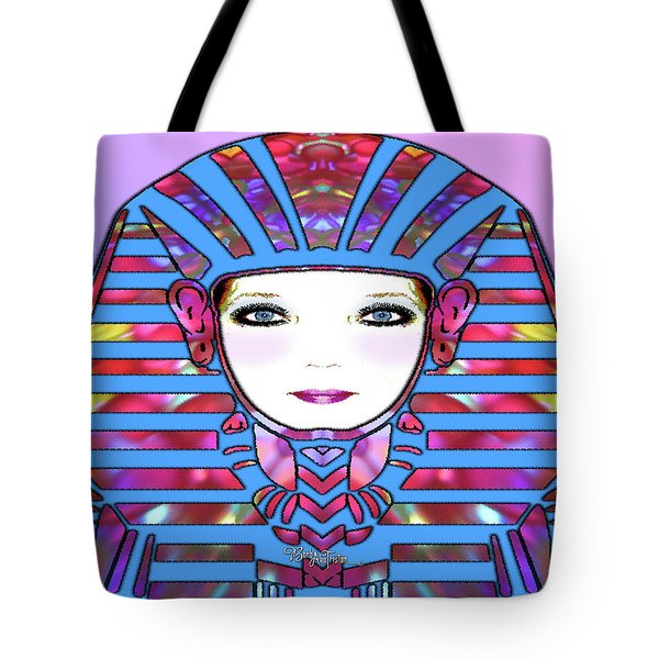 Tote Bag featuring the photograph Lady Tut #191 by Barbara Tristan