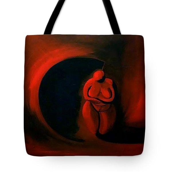 Lady Willendorf Tote Bag