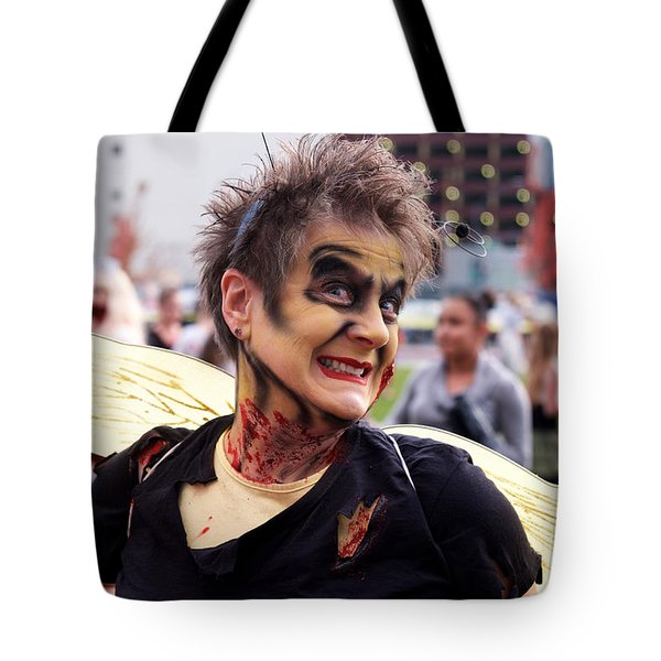 Lady Zombee Tote Bag by Vinnie Oakes