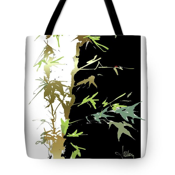 Tote Bag featuring the mixed media Ladybug by Larry Talley