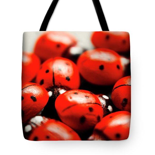 Ladybug Luck Tote Bag