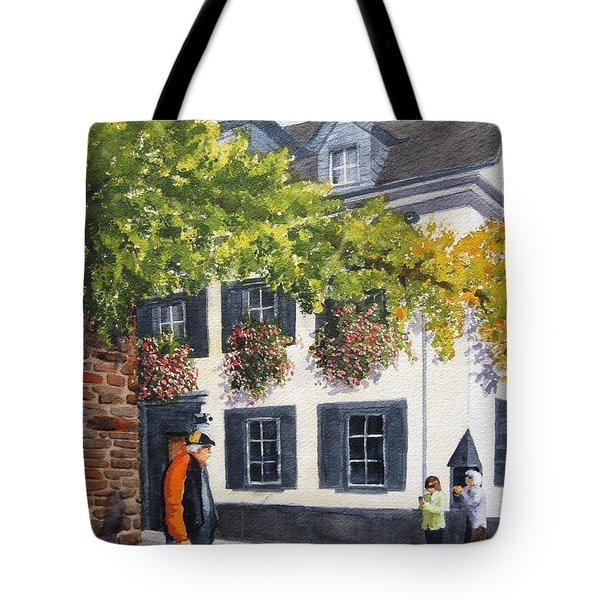 Lady's Man Tote Bag