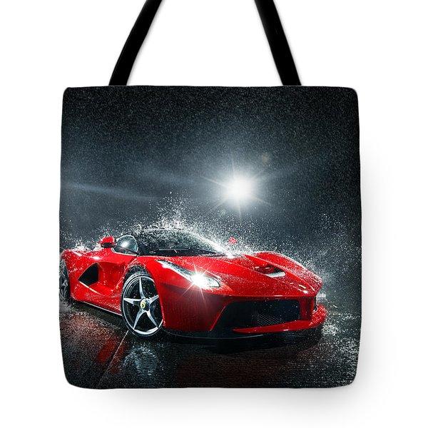 Laferrari Splash Tote Bag