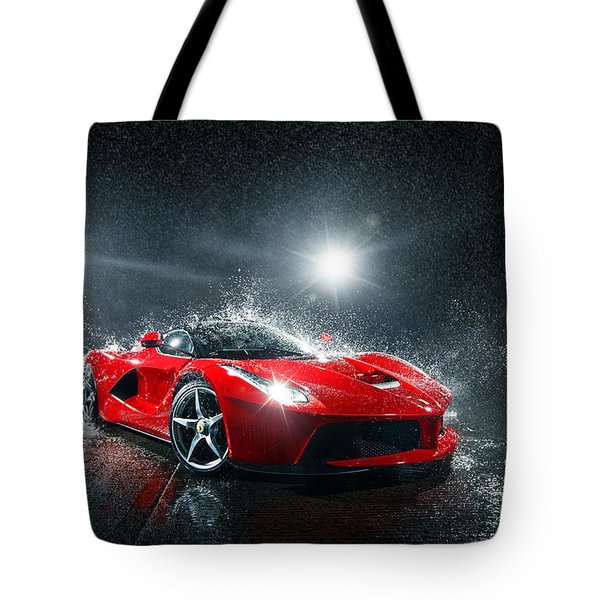 Laferrari Splash Tote Bag