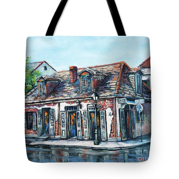 Lafitte's Blacksmith Shop Tote Bag