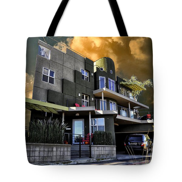 Lagoon House Tote Bag by Bob Winberry
