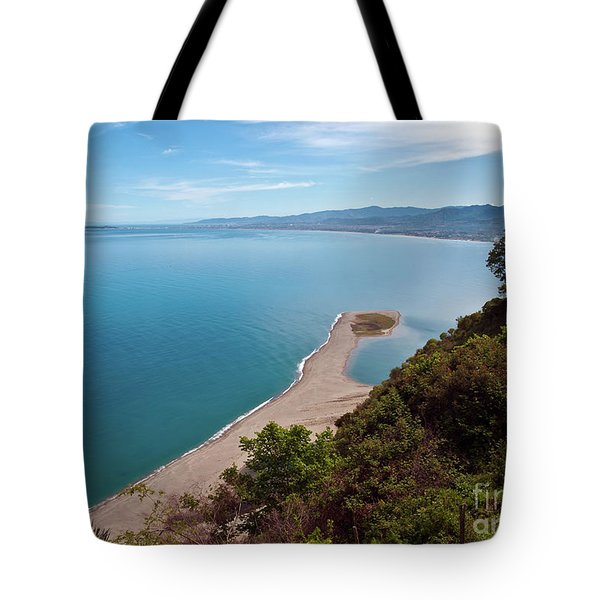 Lagoon Of Tindari On The Isle Of Sicily  Tote Bag
